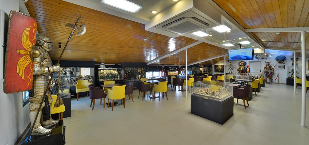 """cafe - متحف """"هيسارات"""" في تركيا لمحبي الأسلحة التاريخية"""